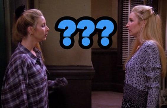 """Monte um look e revelaremos se você é mais a Phoebe ou a Úrsula de """"Friends"""""""