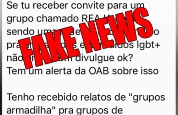 Uma organização de apoio jurídico LGBTQ virou alvo de fake news