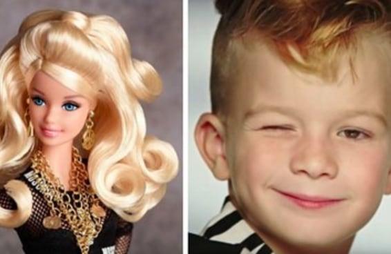 Pela primeira vez um menino aparece em um comercial da Barbie e as pessoas estão surtando