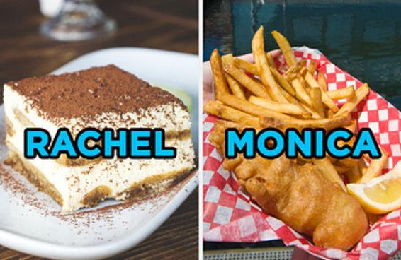 Escolha entre essas comidas e a gente te diz quem você é em 'Friends'