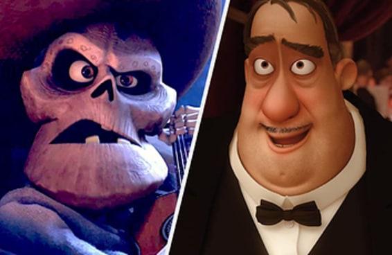 Você consegue identificar os filmes da Pixar apenas pelos personagens secundários?