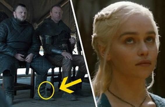 """Uma garrafa de água apareceu no episódio final de """"Game of Thrones"""". A que ponto chegamos???"""