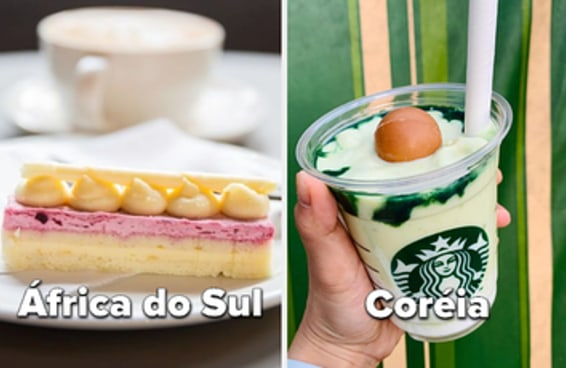 Esses itens dos cardápios do Starbucks mundo afora vão te fazer querer viajar muito