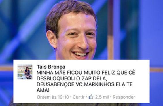 Os brasileiros usaram o post do Zuckerberg para mostrar o melhor do Brasil