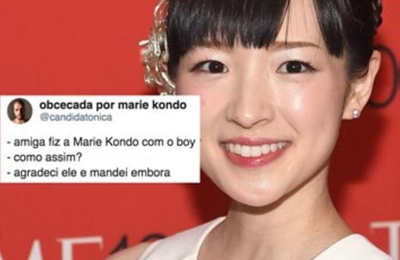 18 memes sobre a Marie Kondo que vão te dar muita alegria