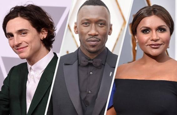 Estas são as celebridades que vão nos presentear com sua presença no Oscar deste ano