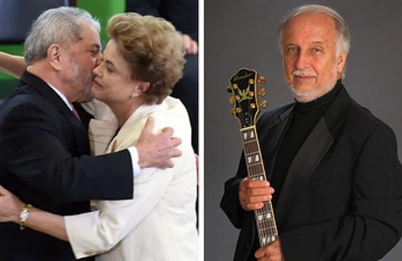 Encontramos a música de espera do telefonema de Dilma e Lula