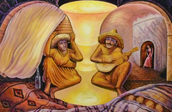 As coisas que atraírem seu olhar nestas pinturas revelarão uma verdade profunda sobre você
