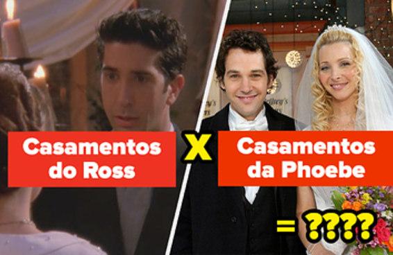 Você tem que saber de Friends e de matemática para se sair bem nesse teste