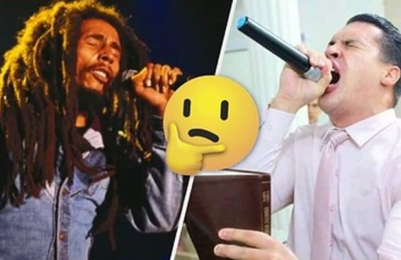 Você sabe dizer se estes versos são da Bíblia ou do Bob Marley?