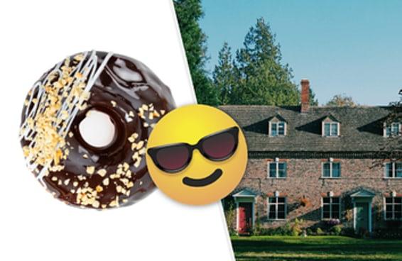 Escolha vários produtos de confeitaria e revelaremos como será sua casa no futuro