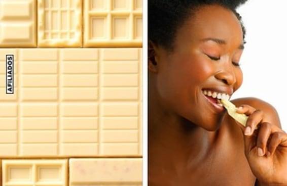 10 produtos para quem acha que chocolate branco é o melhor chocolate
