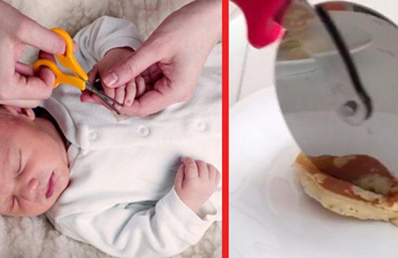 Testei 15 truques que prometem facilitar a vida dos pais com filhos pequenos