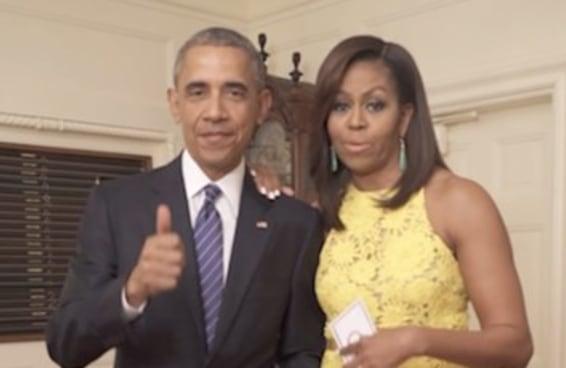 Obama e Michelle conversando sobre os jogos olimpícos bate todos os recordes de fofura