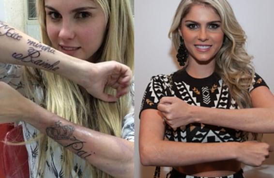 Relembrando 10 tatuagens totalmente cringe de celebridades brasileiras