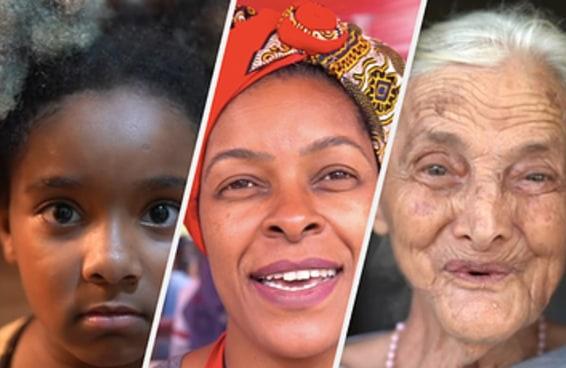 Vídeo mostra a passagem do tempo representada pelo povo brasileiro