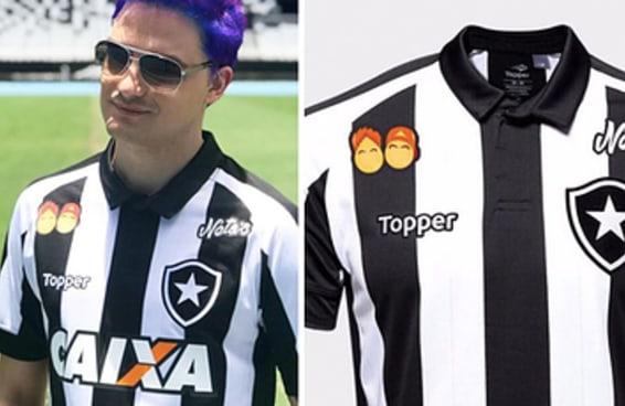 Precisamos admitir que o Felipe Neto mandou bem ao patrocinar o seu time de coração