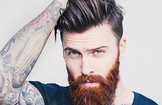 27 barbudos com undercut que provam que essa combinação arrasa