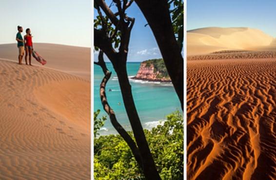 Cinco lugares maravilhosos para visitar no Rio Grande do Norte