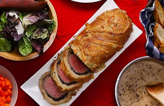 Este bife Wellington é perfeito se você quer fazer algo diferente para a sua ceia de Natal