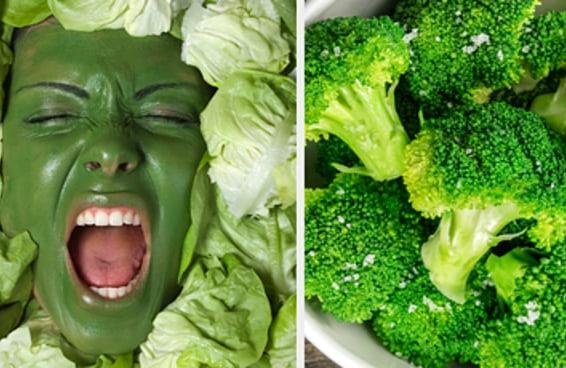 Quantas destas comidas verdes você não suporta?