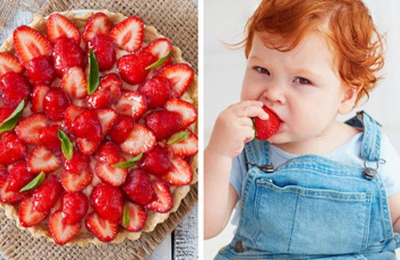Este teste com sobremesas de frutas revelará quantos filhos você terá