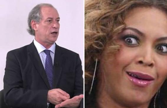 """Ciro Gomes finalmente esclareceu se falou """"A, B ou C"""" ou """"Beyoncé"""""""