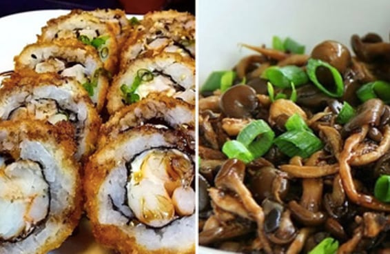 Você come de tudo num rodízio japonês?