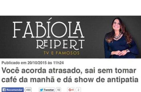 Se a imprensa brasileira cobrisse a sua vida, seria assim