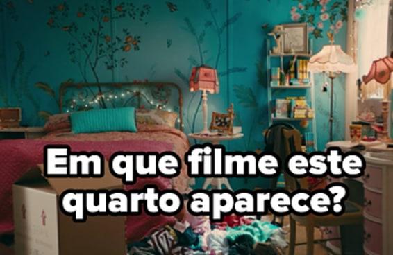 Você consegue identificar estes filmes adolescentes apenas pelos quartos dos personagens?