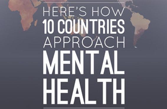 Como nove países abordam as questões de saúde mental