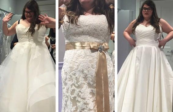 """Eu visitei a loja de noivas do programa """"O Vestido Ideal"""" e não foi como eu esperava"""
