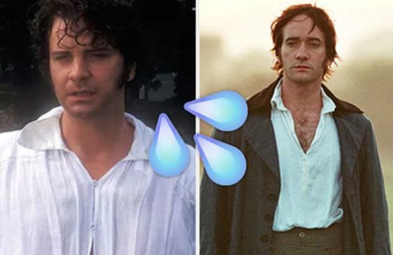 """Os homens de Jane Austen, classificados de """"passaria"""" a """"faria"""""""