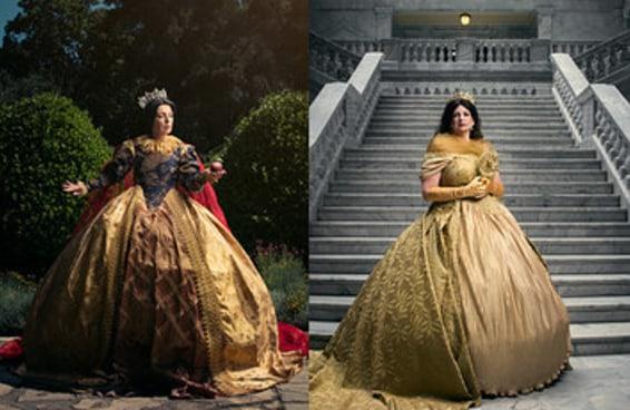 É assim que as princesas da Disney seriam se virassem rainhas