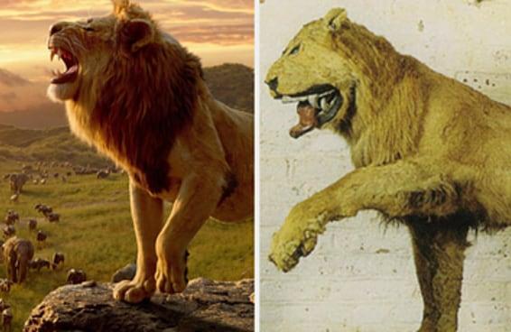 Eu não consigo parar de rir deste leão sueco empalhado