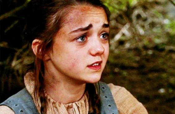 """Está sendo bem difícil lidar com aquela cena comovente com a Arya em """"GoT"""""""