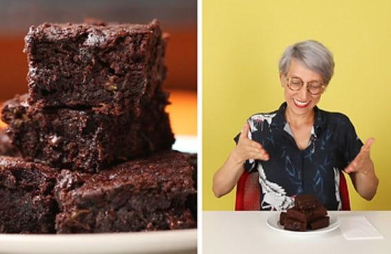 Este brownie tem um ingrediente muito misterioso...