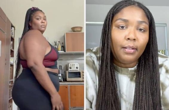 Lizzo enfrentou críticas por fazer uma dieta detox de 10 dias e mostrar no seu TikTok