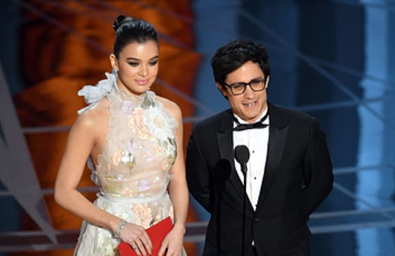 O ator Gael García Bernal aproveitou sua participação no Oscar para criticar o muro de Trump