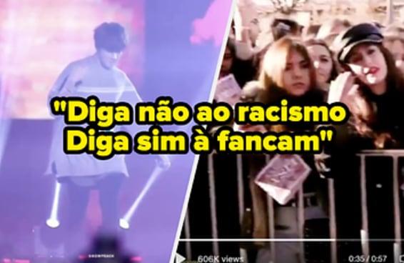 Mais uma vez fãs de k-pop entraram na luta contra o racismo