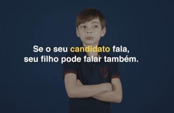 O vídeo com crianças repetindo frases do Bolsonaro deu um nó na cabeça de muita gente
