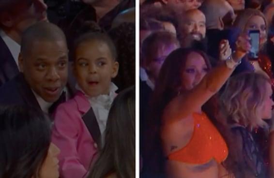 16 momentos da câmera da plateia do Grammy que você não viu na TV