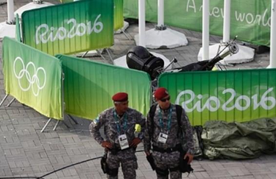Sete ficam levemente feridos após câmera cair no Parque Olímpico