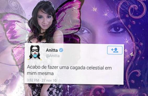 19 tuítes que provam que somos todos Anitta adolescente