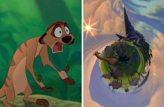 Você conseguiria identificar o filme da Disney se ele fosse um planetinha?
