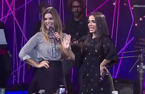 Anitta e Kelly Key cantando 'Baba' é o encontro de gerações mais inesperado do ano