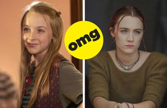 Os indicados ao Oscar deste ano em seu primeiro filme vs. como estão hoje