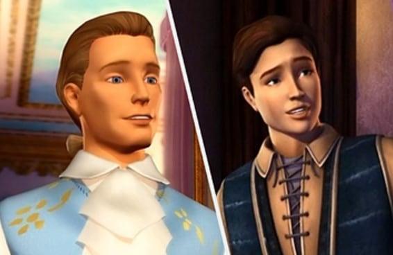 Qual galã dos filmes da Barbie é a sua alma gêmea?