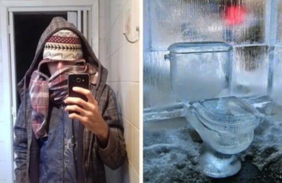 14 imagens que representam você no frio
