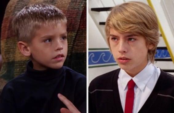 Você consegue distinguir entre o Cole e o Dylan Sprouse?